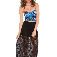 My Passion Lace Skirt - Black
