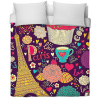 Girls Graphic Bed Cover