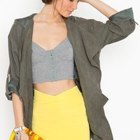 Tulip Bandage Skirt - Yellow in  What's New at Nasty Gal