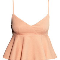 Crêpe Top - from H&M