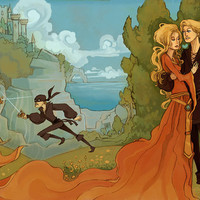 As You Wish Princess Bride Inspired 12x18 poster by theGorgonist