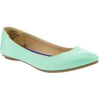 Women's Pointed Faux-Leather Flats | Old Navy
