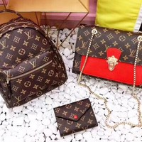 Louis vuitton x GUCCI x YSL x Bally fashionable ladies multi-style three-piece suit