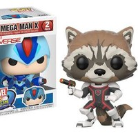 Funko POP Games Marvel vs Capcom 2-Piece Set Rocket Raccoon vs MegaMan