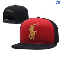 Polo Ralph Lauren Popular Women Men Embroidery Sport Sunhat Baseball Cap Hat 7#