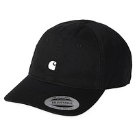 Madison Logo Cap in Black Wax