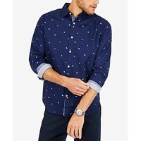 Nautica Mens Classic Fit Oxford Button up Shirt - XX-Large, $69.50