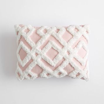Geo Plush Pillows