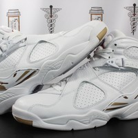 "AUGUAU Air Jordan 8 Retro ""OVO/White"""