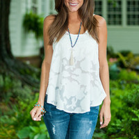 Naturally Yours Tank, White