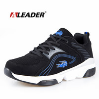 Waterproof Nubuck Leather s Sneakers Casual  Shoes Trainers   Sport Shoes s Running Shoes zapatos hombre