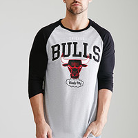 Chicago Bulls Baseball Tee