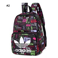 ADIDAS hot seller fashion men's and women's digital printed shopping backpack #2