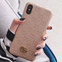 Perfect Gucci  Phone Cover Case For iphone 6 6s 6plus 6s-plus 7 7plus 8 8plus iPhone X XS XSmax XR