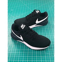 Nike Air Zoom Structure 22 Black White Running Shoes