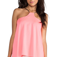 MILLY Eclipse Tank in Coral