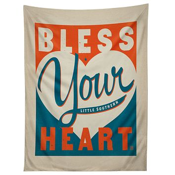 Anderson Design Group Bless Your Heart Tapestry