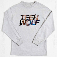 teen wolf cool logo long sleeved on Size : S-3Xl , heppy new year in 2015.