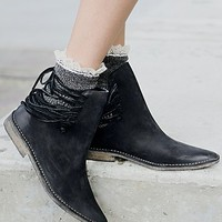 Free People Womens Ajax Laceback Boot