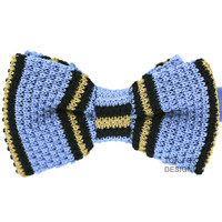 Tok Tok Designs Children Bow Tie for 2 - 8 Years (BK228, Knitted)