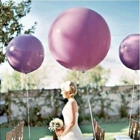 5pcs/lot 36 Inch Super Big Large Wedding Decoration Birthday Party Ballons Thickening Multicolor Latex giant huge Balloon [7983475719]