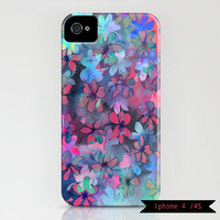Flower Dance iphone Case 3 4 or 5 by SchatziBrown on Etsy