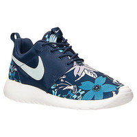 Nike Roshe Run One Print Casual Shoes 749986-431 Women's NEW Training Floral