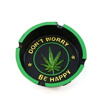 Dont Worry Be Happy Ashtray - Cigar Ashtray