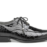 Lorenzo Genuine Alligator Lace-up Shoe by Belvedere