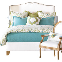 You should see this Bradshaw Comforter in White & Green on Daily Sales!