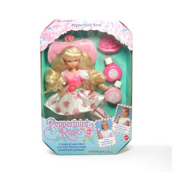 Peppermint Rose Doll MIB Never Removed From Box (NRFB) Vintage Mattel Blonde Hair