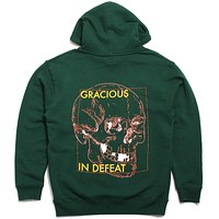 Gracious In Defeat 2 Hoodie Dark Green