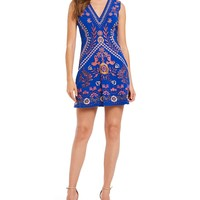 Foxiedox Artemisia Embroidered Dress | Dillards