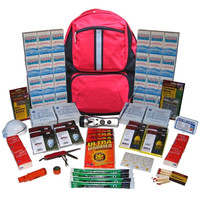 8-Person ''Grab-'N-Go'' Backpack Emergency Kit