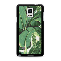 banana leaves Samsung Galaxy Note 4 Case