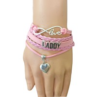 Daddy DDLG/ ABDL Leather bracelets
