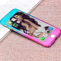 On Sale Stylish Hot Deal Iphone 6/6s Cute Iphone Apple Gradient Phone Case [8383587335]
