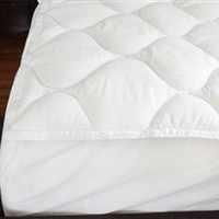 Dorm Bedding XL Topper - USA Made Fiberbed Bed Topper XL Twin Dorm Bedding Supplies Accessories
