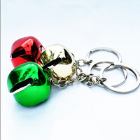 3 Christmas Keychains | Christmas Jingle Bells Key Chains | Christmas Bell Key Rings | Christmas Gift | Key Chain