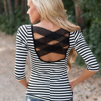 Tangles of My Heart 3/4 Sleeve Top