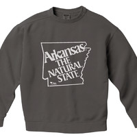 80's Vintage Natural State Pigment Dyed Crew Sweatshirt