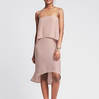 Banana Republic Womens Strappy Tiered Dress