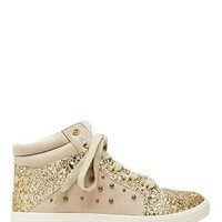 Childrens Shoes Boys Shoes Girls Shoes | Gold Glitter Hightop | Seed Heritage