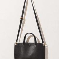 Mini Reversible Faux Leather Tote Bag   Urban Outfitters