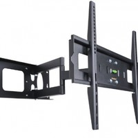 "VideoSecu Mounts Articulating TV Wall Mount for most 32"" 37"" 39"" 40"" 42"" 46"" 47"" 50"" 52"" 55"" 58"" 60"" 62"" 63"" 65"" LCD LED Plasma Flat Panel TV with VESA from 200x100 to 400x400, 600x400mm MW365BBM7 BM7"
