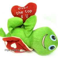 """Turtle Max Reptile Gifts :: - Turtles, Sea Turtles :: Turtles for Holidays, Weddings & Celebrations :: """"Over the Top"""" Plush Valentines Turtle"""