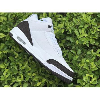 Air Jordan 3 white black Basketball Shoes 40-47