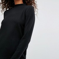 Noisy May High Neck Knit at asos.com