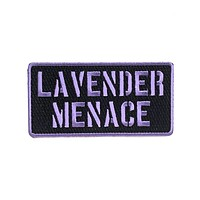 Lavender Menace Patch