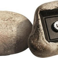 RocLok Hide A Key Gila Key Storage Box Disguised as a Rock with Set-Your-Own Combination Lock